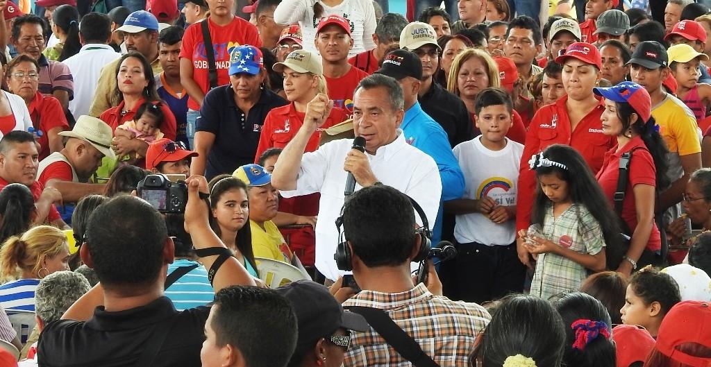 justo noguera candidato de bolivar