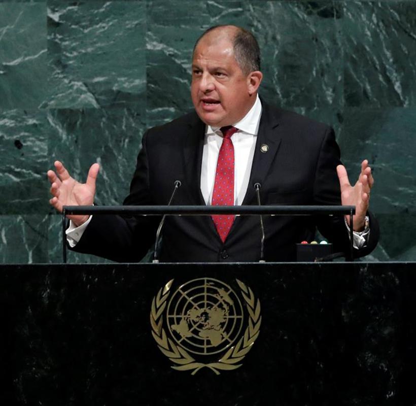 presidente de Costa Rica