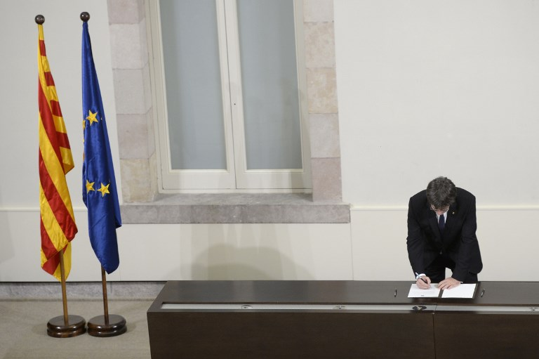 / AFP PHOTO / Josep LAGO
