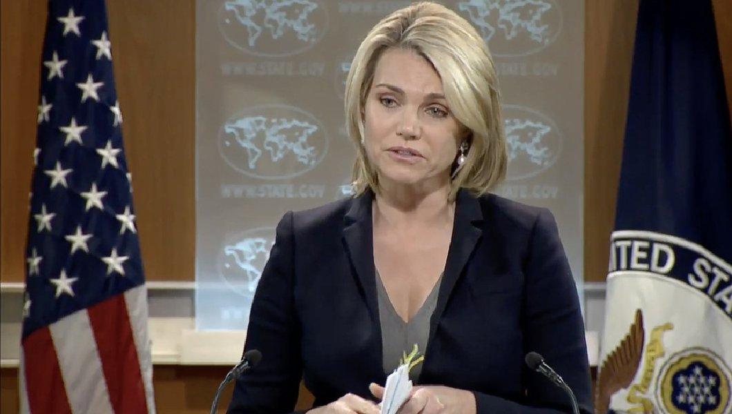 Departamento de Estado, Heather Nauert