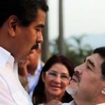Maduro y Maradona