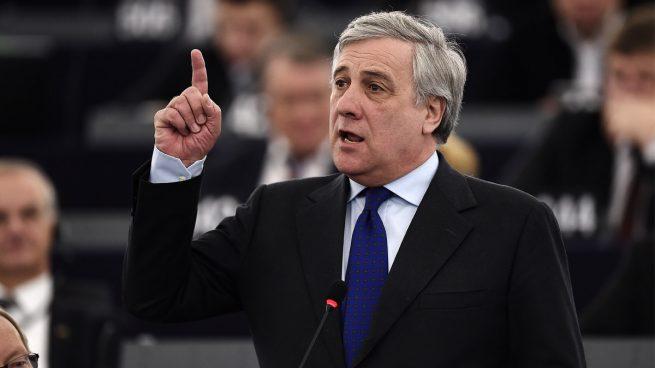 El presidente del Parlamento Europeo, Antonio Tajani,
