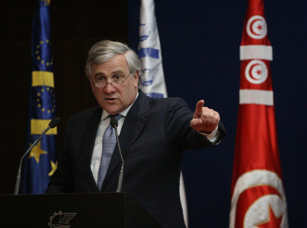 Presidente de Parlamento Europeo
