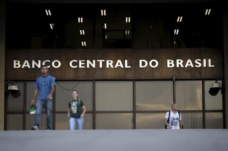 Sede del Banco Central de Brasil, en Brasilia. 23/09/2015. El déficit de cuenta corriente de Brasil aumentó a 935 millones de dólares en febrero, más de lo esperado, mostraron datos del Banco Central divulgados el viernes.  REUTERS/Ueslei Marcelino