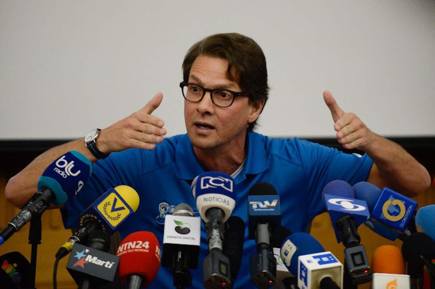 ¿Se decidió Lorenzo Mendoza? Falcón le dio la bienvenida a la Política