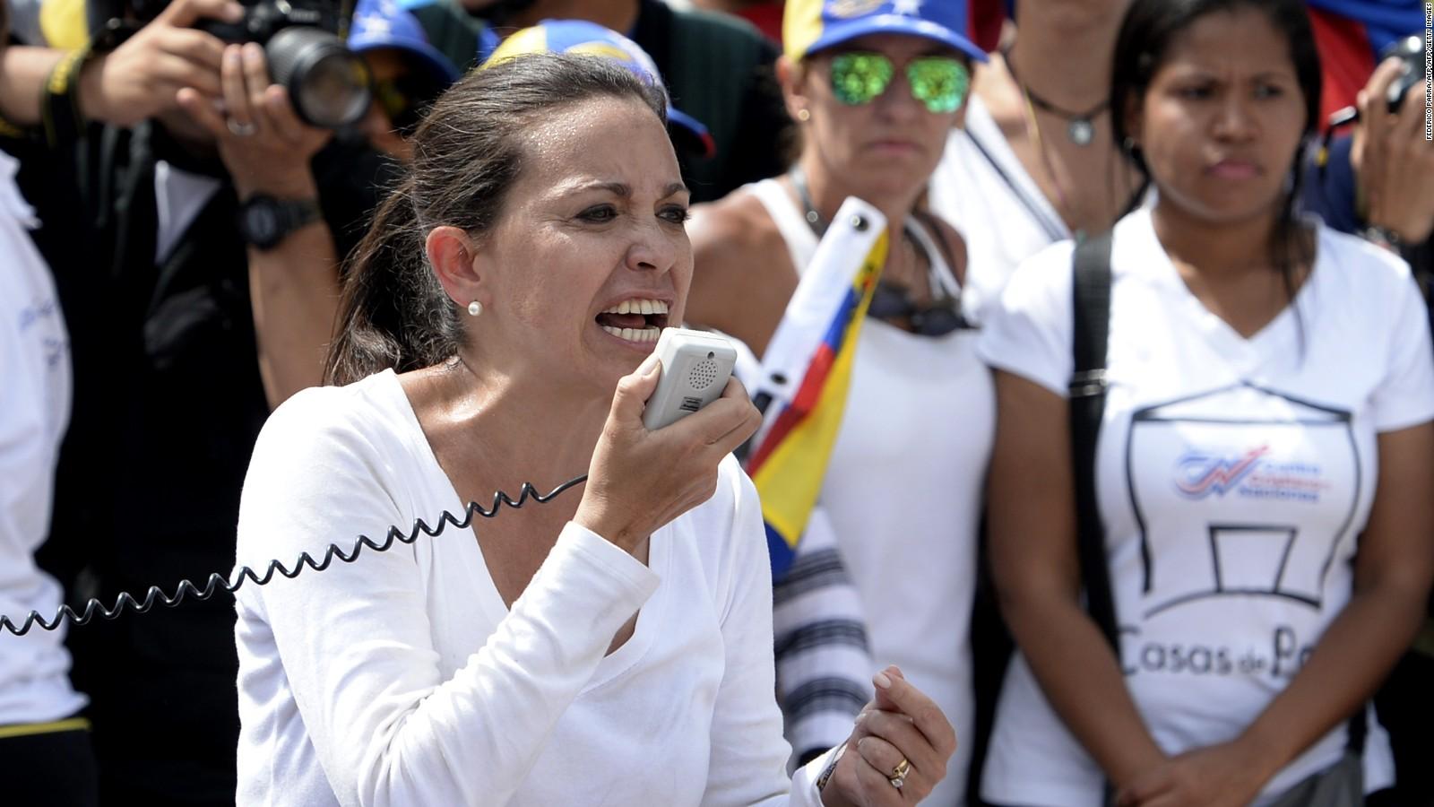 """Corina Machado indicó que la abstención no es indiferencia, """"es rebeldía"""""""