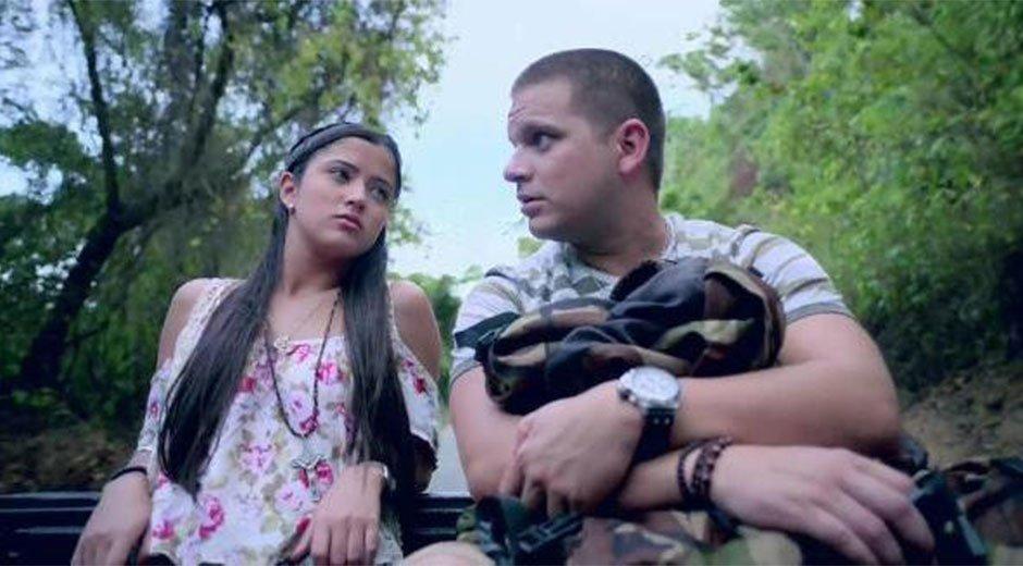 Omar Acedo y Daniella Cabello