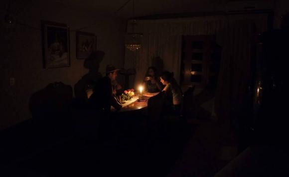 Sin luz en Venezuela