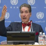 Press Conference by Mr. Alfred de Zayas, Independent Expert on the promotion of a democratic and equitable international order.