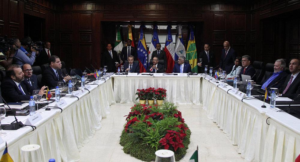 """Acción Democrática le deja el """"pelero"""" al diálogo en Dominicana"""