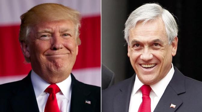 Donald y Piñera