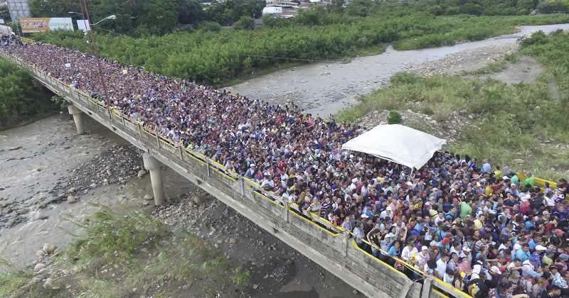 20 millones de venezolanos han ingresado a Colombia durante el 2017