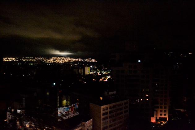 Venezuela a punto de apagarse