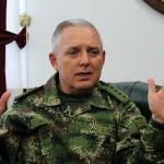 El comandante de las Fuerzas Militares de Colombia, general Alberto Mejía,