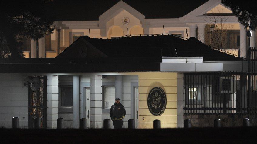 embajada de EEUU en Montenegro