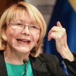 """Fiscal venezolana dice hay un """"proceso progresivo de desmontaje"""" de Fiscalía"""