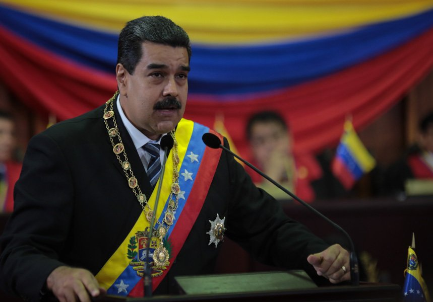 """Maduro culpa a EEUU por una """"conspiración militar"""""""