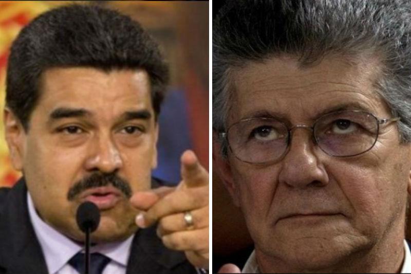 Nicolás-Maduro-atacó-a-Ramos-Allup