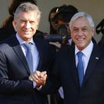 11 de marzo del 2018/VIÑA DEL MAR El Presidente de Argentina, Mauricio Macri, llegó hasta Cerro Castillo, para sostener una reunión bilateral con el presidente electo, Sebastián Piñera. FOTO: LEONARDO RUBILAR CHANDIA/AGENCIAUNO