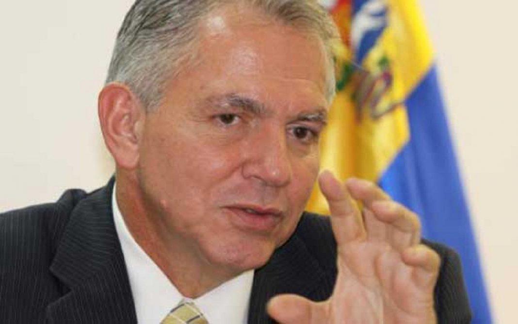 exviceministro venezolano de Desarrollo Eléctrico Javier Alvarado