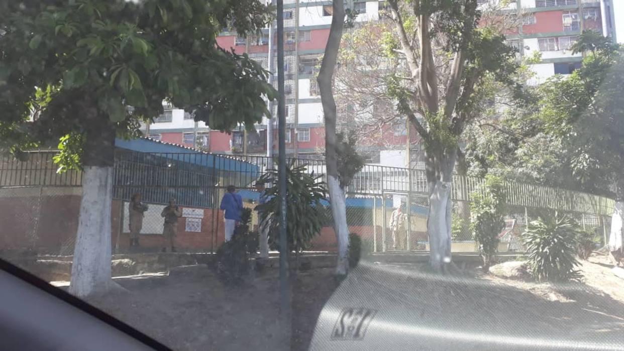 Centros de votación en el 23 de Enero se encuentran vacíos / Foto: El Nacional