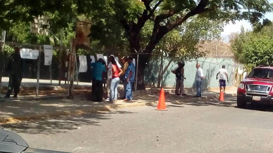 Centros electorales en Guatire están vacíos este 20M / Foto: El Nacional