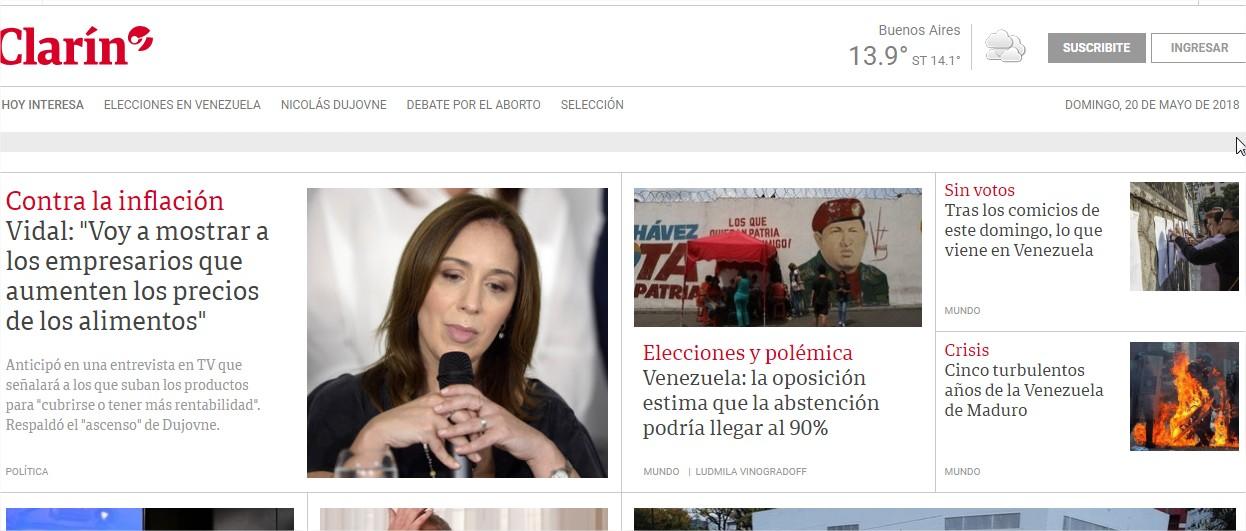 America noticias argentina online dating 6