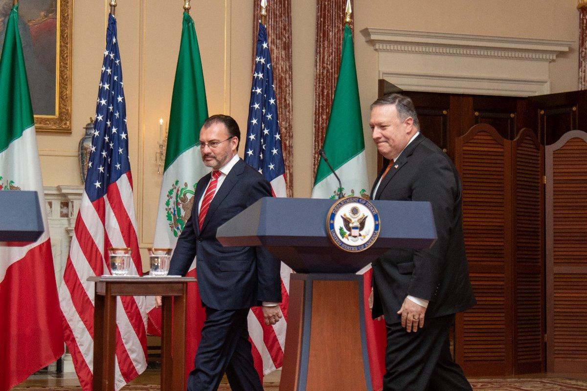 foto: Vía Twitter Secretaría de Relaciones Exteriores