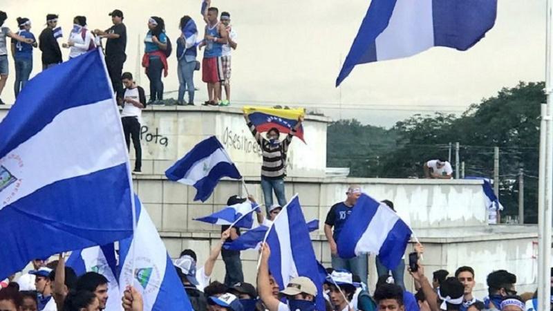 bandera venezuela nicaragua