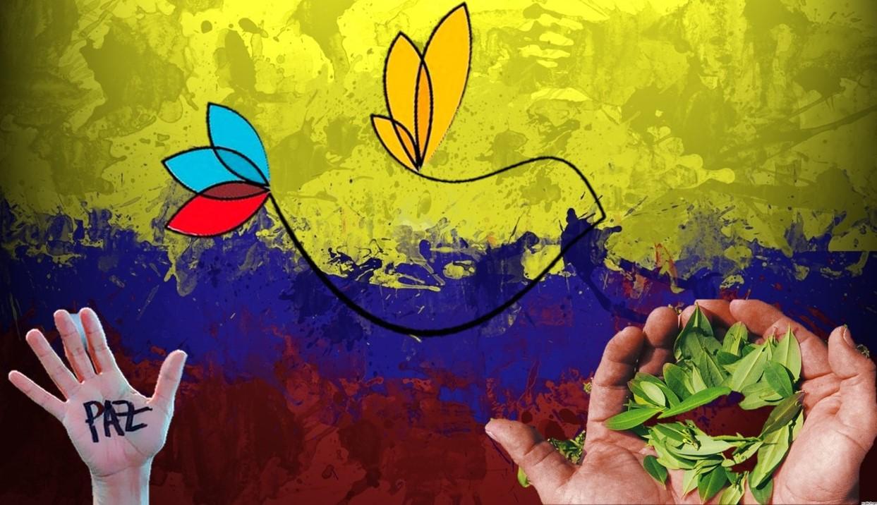 Colombia un país inundado de coca y con la paz en vilo