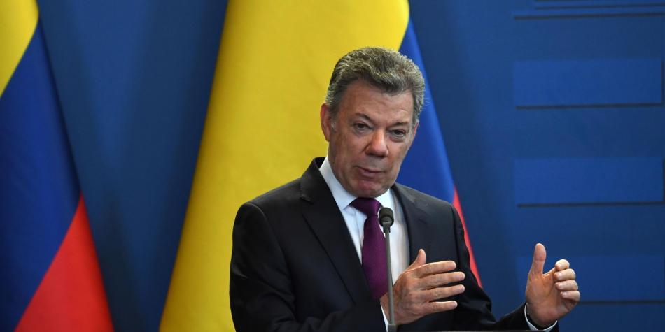 Presidente de Colombia  anunció posible hallazgo de cadáveres de periodistas