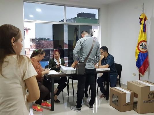 consulado de Colombia en San Cristobal