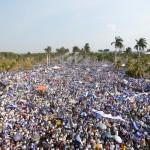 Marcha en Nicaragua