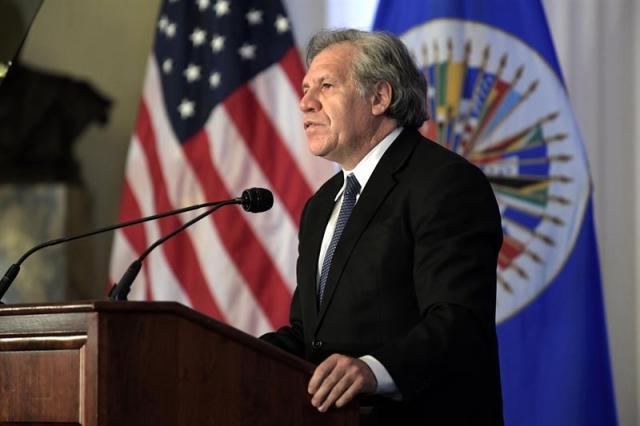 Almagro insta al mundo a proteger a Venezuela sin necesidad de una opción militar