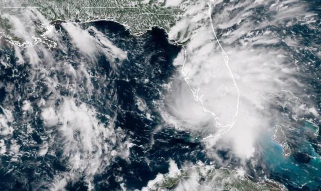 La tormenta tropical Gordon se ve cerca de Florida, EEUU, en esta foto satelital del 3 de septiembre de 2018 de la NASA. NASA / Folleto a través de REUTERS ATENCIÓN ESTA IMAGEN FUE PROPORCIONADA POR UN TERCERO.