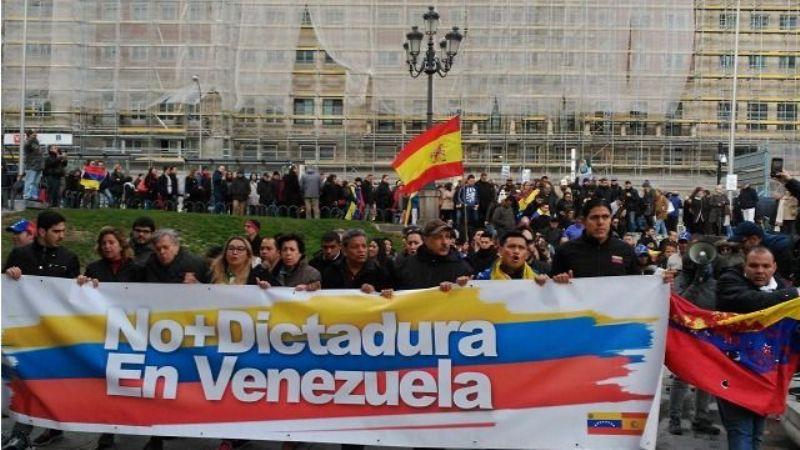 Venezolanos en el exterior rechazan que España impulse diálogo con régimen madurista