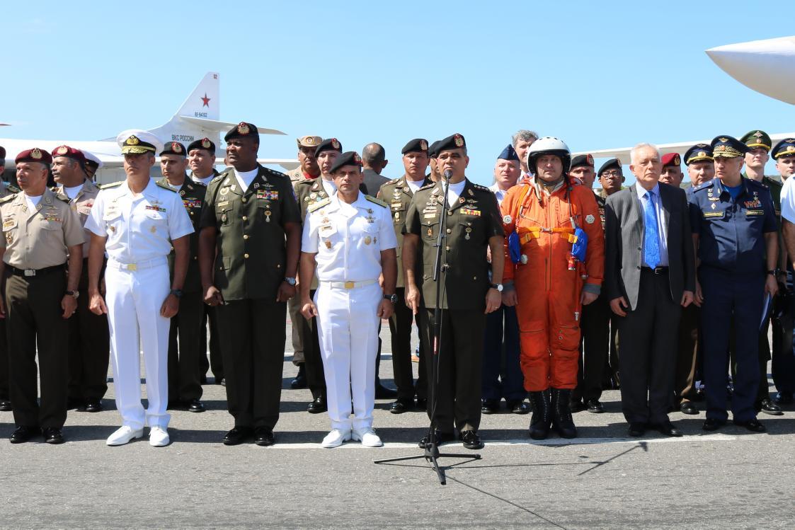 """Rusia y Venezuela realizarán maniobras conjuntas para la """"eventual defensa""""del país"""