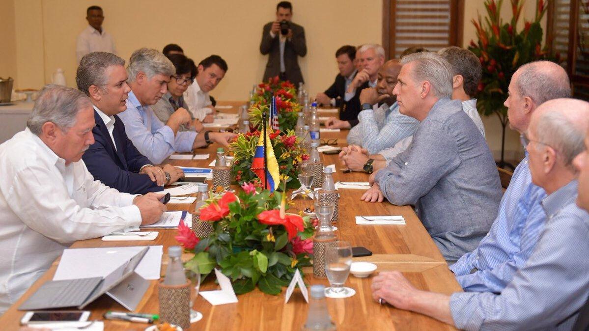 Iván Duque pidió más presión diplomática sobre régimen de Maduro