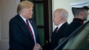 Donald Trump y Ueli Maurer
