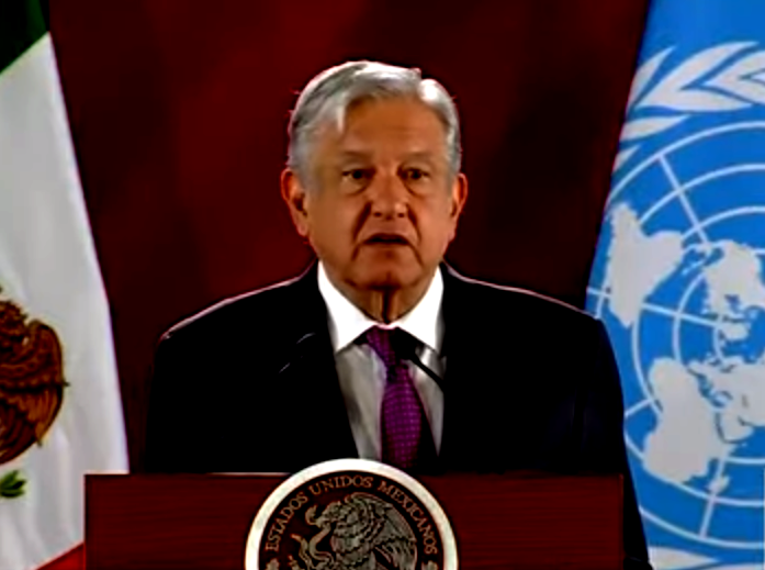 López Obrador ratificó que desea buenas relaciones con Estados Unidos