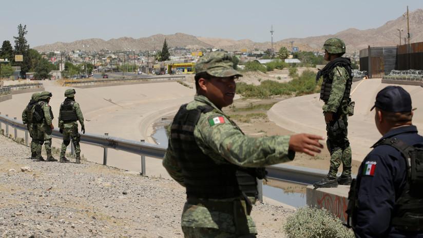 15.000 militares mexicanos fueron enviados a la frontera con EEUU para frenar la migración