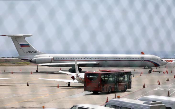 Avion ruso en Mqta