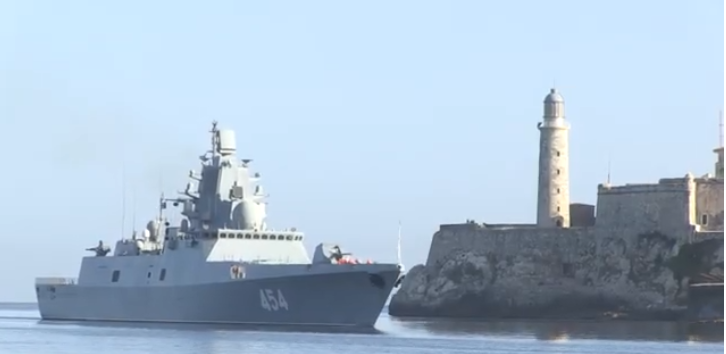 Desafío a Estados Unidos: Barcos y avión rusos en Cuba y Venezuela
