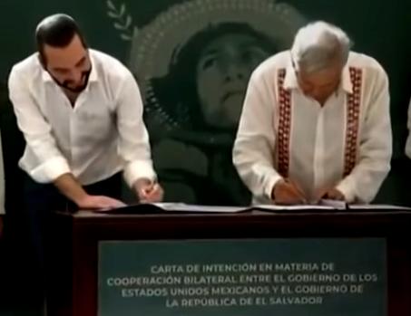 México y El Salvador acuerdan ambicioso programa de desarrollo económico para Centroamérica