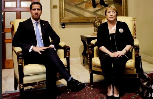 Bachelet está insistiendo en la liberación de los presos políticos, según Guaidó