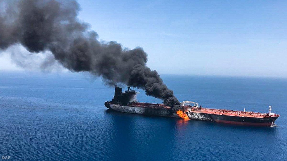 Ataque de buques en mar de Omán  ponen a temblar al mundo entero